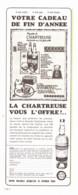 """PUB    """"  CHARTREUSE  """"   1966  ( 21 ) - Alcohols"""