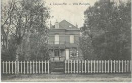 LE COQ SUR MER : Villa Mariquita - Cachet De La Poste 1924 - De Haan