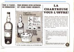 """PUB    """"  CHARTREUSE  """"   1966  ( 22 ) - Alcohols"""