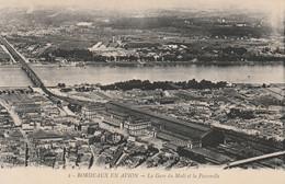 Bordeaux En Avion - La Gare Du Midi Et La Passerelle - Bordeaux