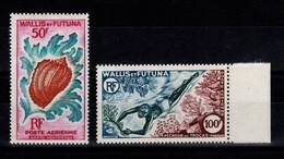 Wallis Et Futuna - YV PA 18 & 19 N** Complete Vie Marine Cote 35,50 Euros - Ungebraucht