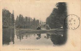 Une Partie De Peche Sur La Creuse - Other Municipalities