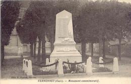 CPA - VERNONNET - MONUMENT COMMEMORATIF - Unclassified
