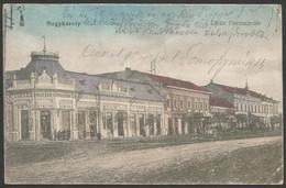 Romania-----Carei (Nagykároly)-----old Postcard - Roemenië
