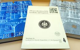 Konvolut: 2 Bücher Zur Geschichte Des De Gruyter Verlags + 1 Buch: Oberpostdirektion Aachen - 4. 1789-1914