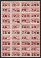 France Colis Postaux YT N° 45 En Bloc De 40 Timbres Neufs ** MNH. TB. A Saisir! - Nuevos
