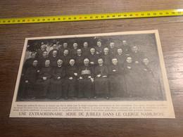 1929 PATI2 Série De Jubilés Clergé Namurois Mgr Heylen - Non Classés