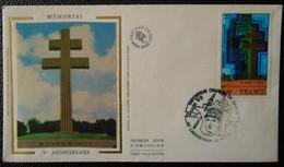 Charles De Gaulle Bureau Temporaire Landrethun Le Nord 62 Pas De Calais Exposition Ch De Gaulle 06 07 1993 - Commemorative Postmarks