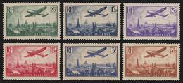 France Poste Aérienne N°8/13, Neufs ** Sans Charnière COTE 300€ - TB - 1927-1959 Ungebraucht