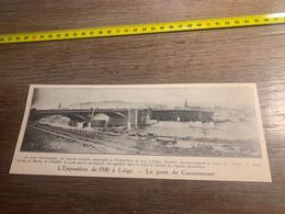 1929 PATI2 Le Pont De Coronmeuse à Liège Clocher De L église Sainte-Foy - Non Classés