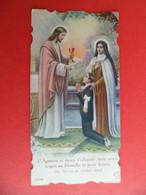 Image Pieuse 1942 Religion Catholique Ed. Boumard N° 35768 - Communion Solennelle Eglise LE THEIL Orne - Religion & Esotericism