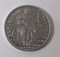 76/ Monnaie 2 Francs Alu Nouvelle Calédonie 1995-- 2,20 Gr - New Caledonia