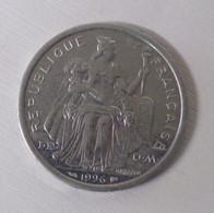 77/ Monnaie 2 Francs Alu Nouvelle Calédonie 1996-- 2,20 Gr - New Caledonia