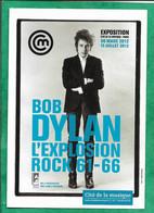 """Bob Dylan (Robert Allen Zimmerman Judaïca) Exposition Cité De La Musique Paris 2012 """"L'explosion Rock 61-66"""" 2scans - Other"""