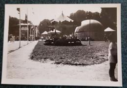 Photo - Fête Foraine - Gonflement Du Sphérique - Meaux Mai 1937 - Manège (8.9x6.0cm) - Non Classés