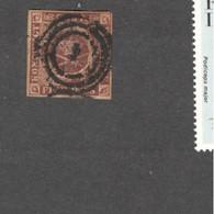 DENMARK    1851:Michel1(Cancel 4)used Cat.Value $60minimum - Oblitérés
