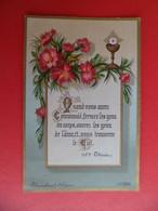 Image Pieuse 1889 Religion Catholique Ed. Blanchard Orleans N° 2031 - Sainte Therese - - Religion & Esotericism