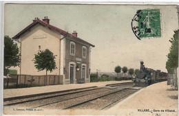 VILLABE  GARE DE VILLABE     TRAIN - Sonstige Gemeinden