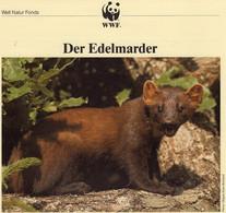 Dokumentation 1992 Set 128 EIRE 798/1 **, 4MC+ FDC 20€ WWF Nager Edel-Marder Naturschutz Fauna Pine Marten Of Wild-life - Briefe U. Dokumente