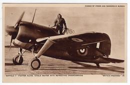 """""""BRITAIN PREPARED"""" 46 - """"Buffalo 1"""" Fighter Plane. - War 1939-45"""