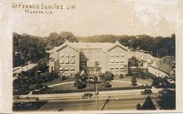 Real Photo St Francis Sanitarium Sanatorium Monroe . Tuberculosis - New Orleans