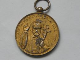 Médaille D'honneur Decernee A Mr Lansen - Saint Francois Xavier - Paroisse St Laurent   **** EN ACHAT IMMEDIAT **** - Religion & Esotericism