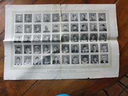 TABLEAU D'HONNEUR DU DIXMUDE - Les Marins Du Dirigeable , Disparus Sur Les Côtes De La Sicile En 1923 - Historical Documents