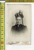 314 KL - VIEILLE PHOTO FEMME - OUDE FOTO  VROUW - PHOTOGRAPHIE : ACH. SACRE SMITS GAND - Old (before 1900)
