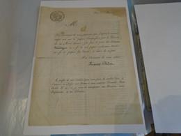 IMPRIMERIE : FIRMIN DIDOT LETTRE-FORMULAIRE IMPRIMEE D'AUGMENTATION DE SES PRIX SUR LES EDITIONS STEREOTYPEES 1811 - Historical Documents