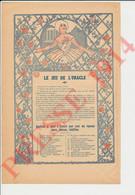 3 Vues Jeu De L'Oracle Voyance Roses Fleurs Roseraie + Poème Rosemonde Gérard  249/16 - Non Classés