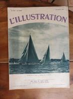 1934 (28 Juil) L'ILLUSTRATION : Régates Au Havre; Aurillac; Laon; Castelgandolfo ;Fouilles En Bretagne ; St-Nazaire ;etc - L'Illustration