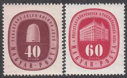 HUNGARY  Michel 997/98  ** MNH - Ungebraucht