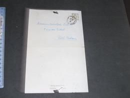 SOCIETE VERVIETOISE D'ARCHEOLOGIE ET D'HISTOIRE-CONVOCATION A ADOLPHE LELOTRE PETIT RECHAIN-OBJET: VOIR SCANS - Historical Documents