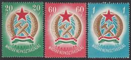 HUNGARY  Michel  1053/55 X  ** MNH - Ungebraucht