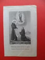 Image Pieuse Religion Catholique +ou- 1890 - Gravure  Ed. Turgis N° 616 - Saint Francois Bénissant Le BF - Léon - Religion & Esotericism
