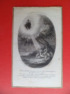 Image Pieuse Religion Catholique +ou- 1890 - Gravure  Ed. Bonamy N° 2 - L' Ame Cachée - Religion & Esotericism