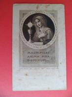 Image Pieuse Religion Catholique 1937 Gravure BL Bouasse N° 9501 Profession Perpetuelle Soeur Marie - Au Berceau Lourdes - Religion & Esotericism