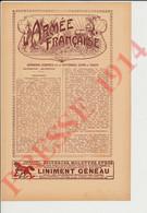 4 Vues 1914 Armée Française Garnisons (Emplacement Des Troupes) Biberons Stérilisateurs Robert Liniment Geneau 249/16 - Non Classés