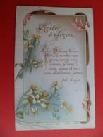 Image Pieuse Religion Catholique Chromo +ou- 1890 Ed. Bouasse 1339 - Visite à Jésus - Religion & Esotericism