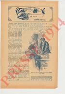 6 Vues 1914 Récit De Lagrillière-Beauclerc (Desmaretz Lantoy) + Publicité Bignon-Pariani Crème Marguerite 249/16 - Non Classés