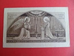Image Pieuse Religion Catholique Gravure Abbaye De Maredret 258 -1er Septembre 1917 à 1937 Librairie Jeanne D'Arc TARBES - Religion & Esotericism