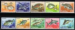 Tokelau - 1984 - Fish - Mint Definitive Stamp Set (10 Values) - Tokelau