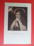 Image Pieuse Religion Catholique Sainte Therese Teresia De L'enfant Jesus - Religion & Esotericism