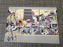 CP Illustrateur EVER MEULEN  A.I.D.A. Avenue Typique 80's Memphis - Other Illustrators