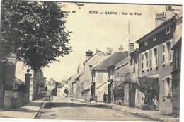 CPA  SCEY / SAONE    Rue Du Pont  N° 2188 - Autres Communes