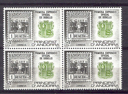 Andorra - 1982, Exposicion Andorra E=162 S=148 (**) Bl. - Ungebraucht