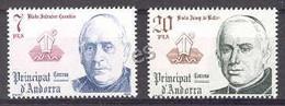 Andorra - 1981, Coprincipes E=146-47 S=132-33 (**) - Ungebraucht