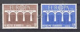 Andorra - 1984, Europa E=179-80 S=162-63 (**) - Ungebraucht