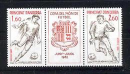 Andorra -Franc 1982 Copa Futbol Y=302-03 E=323-24 (**) - Ungebraucht