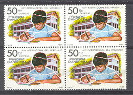 Andorra - 1981, Minusvalido E=143 S=129 (**) Bloque - Ungebraucht